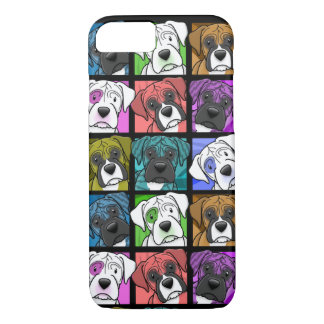Pop Art Boxer iPhone 7 case