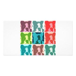 Pop Art Boxers Photo Card Template