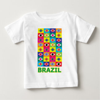 Pop Art Brazil Baby T-Shirt