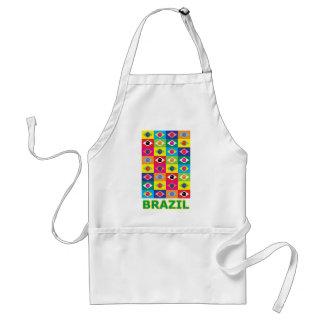 Pop Art Brazil Standard Apron