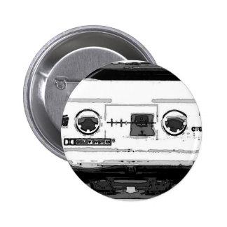 Pop Art Cassette 6 Cm Round Badge