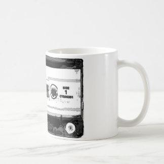 Pop Art Cassette Coffee Mug
