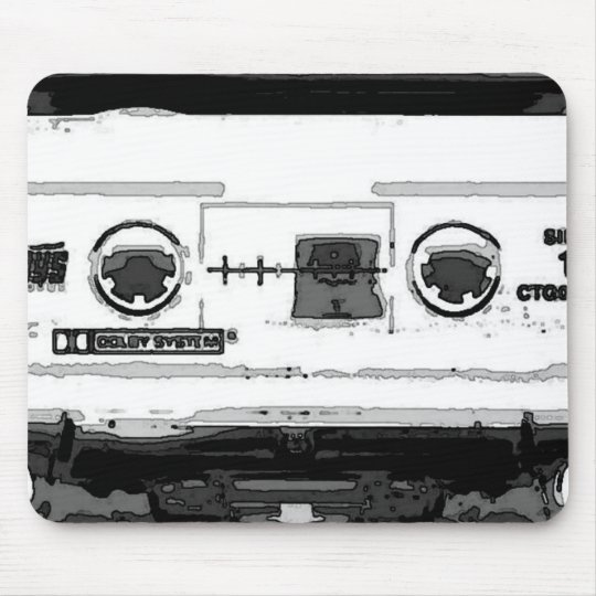 Pop Art Cassette Mouse Mat