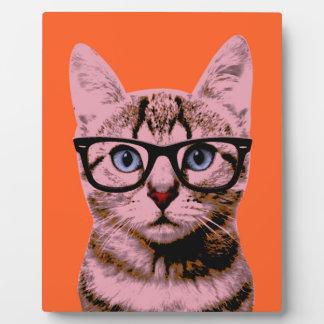Pop Art Cat Display Plaques