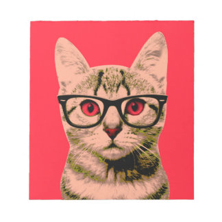 Pop Art Cat Notepad