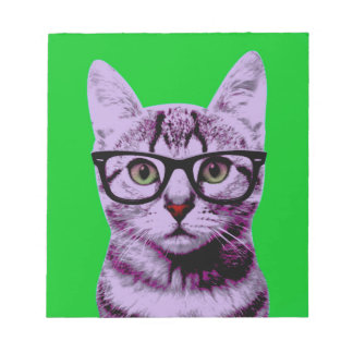 Pop Art Cat Notepads