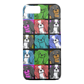 Pop Art Cavalier King Charles Spaniel iPhone 7 cas iPhone 7 Case