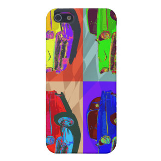 Pop art Chevy Belair illustration iPhone 5 Cover