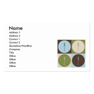 Pop Art Chiropractic Business Card Templates