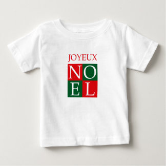 Pop Art Christmas NOEL Baby T-Shirt