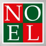Pop Art Christmas NOEL Print