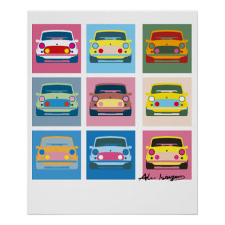 Pop Art Classic Mini Poster