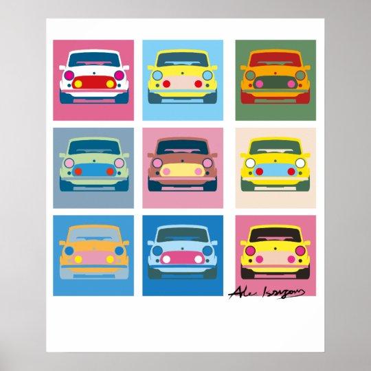 Pop Art Classic Mini Poster