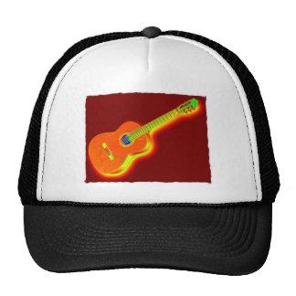 Pop Art Classical Guitar Trucker Hats