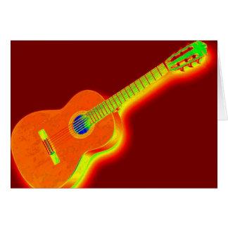 Pop Art Classical Guitar Cards