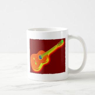Pop Art Classical Guitar Mug