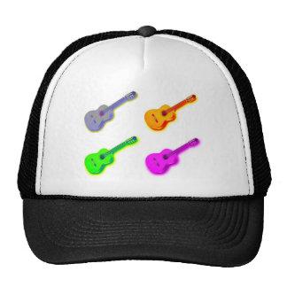 Pop Art Classical Spanish Guitar Mesh Hats