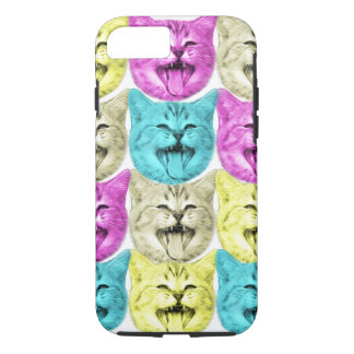pop art color cat iPhone 7 case
