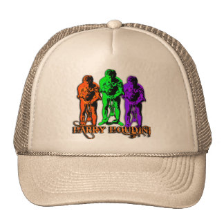 Pop Art Colorful Houdini Triple Image Hat