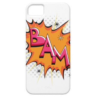 Pop Art Comic Bam! Barely There iPhone 5 Case