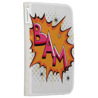 Pop Art Comic Bam! Kindle Cases