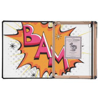 Pop Art Comic Bam Cases For iPad