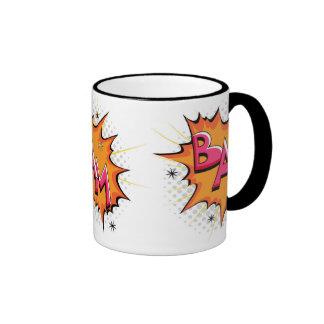 Pop Art Comic Bam Mugs