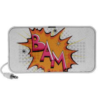 Pop Art Comic Bam! Portable Speakers