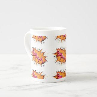 Pop Art Comic Bam Porcelain Mugs
