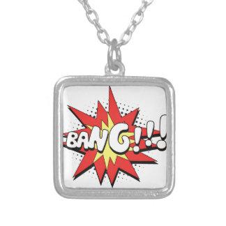 Pop Art Comic Bang! Pendant