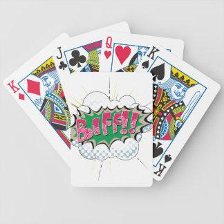 Pop Art Comic Biff Card Decks