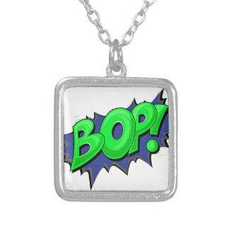 Pop Art Comic Bop! Custom Necklace