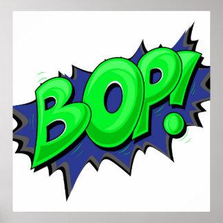 Pop Art Comic Bop! Poster