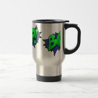 Pop Art Comic Bop! Stainless Steel Travel Mug