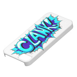 Pop Art Comic Clank! iPhone 5 Case