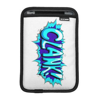 Pop Art Comic Clank! iPad Mini Sleeve