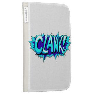 Pop Art Comic Clank! Kindle 3G Case