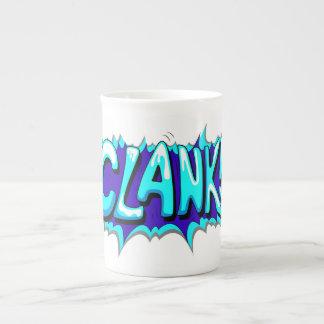 Pop Art Comic Clank Porcelain Mug