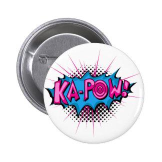 Pop Art Comic Ka-Pow Pin