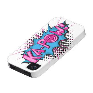 Pop Art Comic Ka-Pow Vibe iPhone 4 Cases