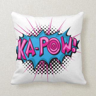 Pop Art Comic Ka-Pow! Cushion