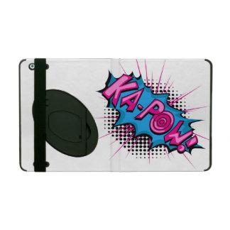 Pop Art Comic Ka-Pow! iPad Folio Cases
