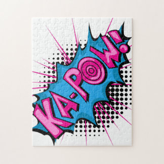 Pop Art Comic Ka-Pow! Jigsaw Puzzle