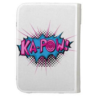 Pop Art Comic Ka-Pow! Kindle 3G Cases