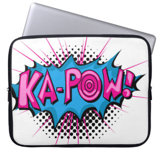 Pop Art Comic Ka-Pow! Laptop Computer Sleeve