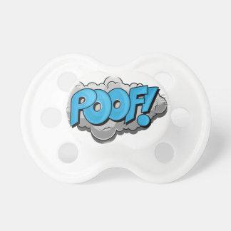 Pop Art Comic Poof Baby Pacifiers