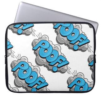 Pop Art Comic Poof! Laptop Sleeves