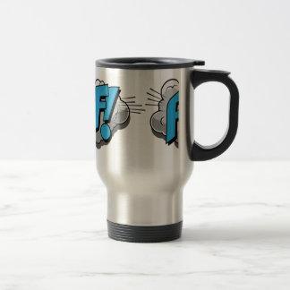 Pop Art Comic Poof Coffee Mug