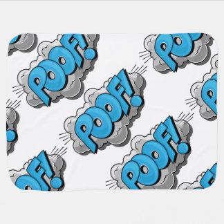 Pop Art Comic Poof Receiving Blankets