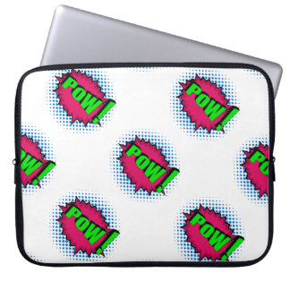 Pop Art Comic Pow! Laptop Computer Sleeves